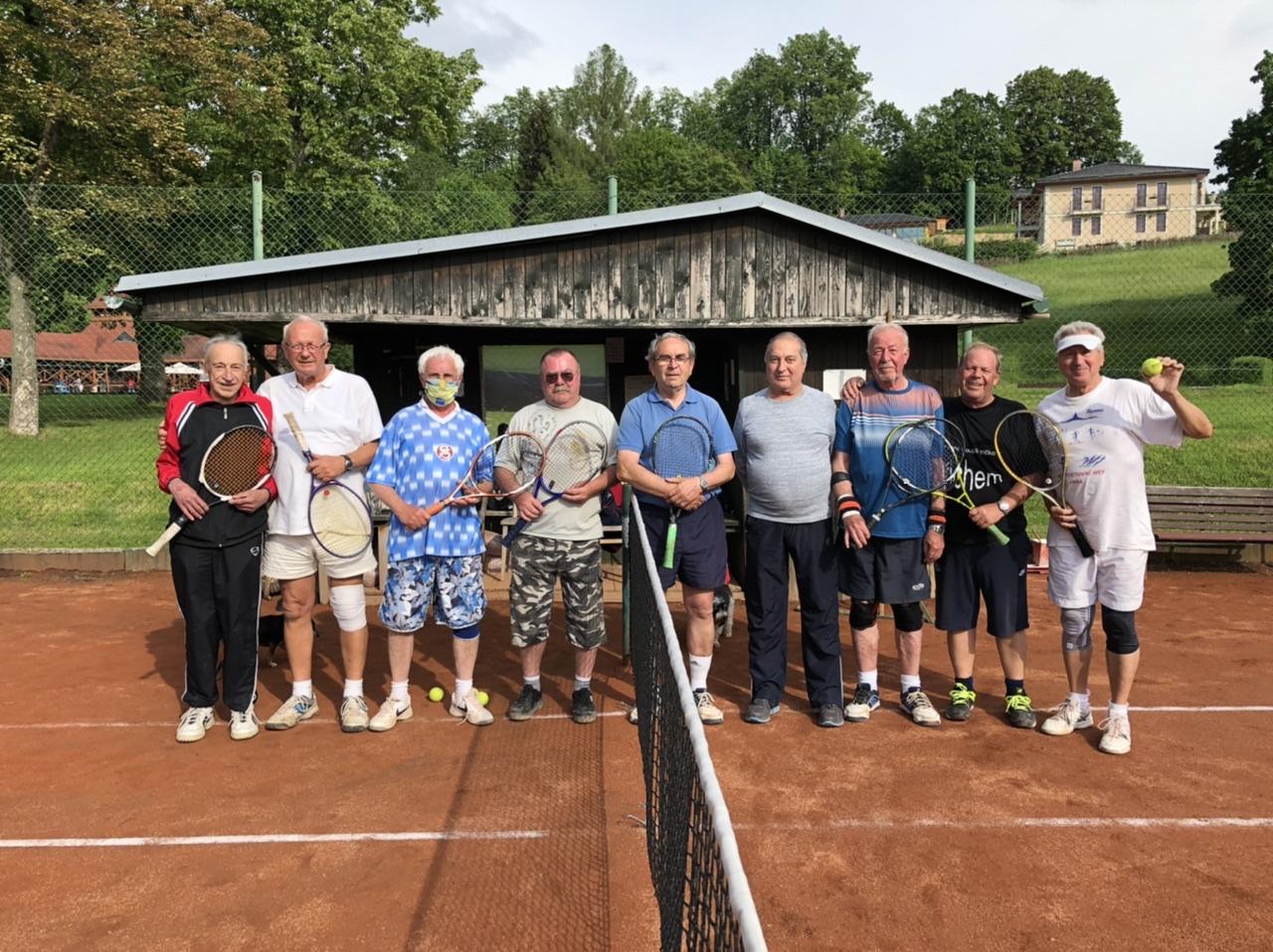 Naši tenisový veteráni v Jablonném